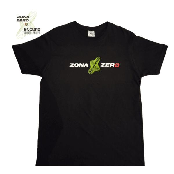 Camiseta negra ZonaZero Hombre